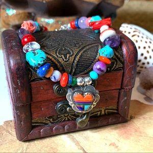 Handmade tribal bracelet